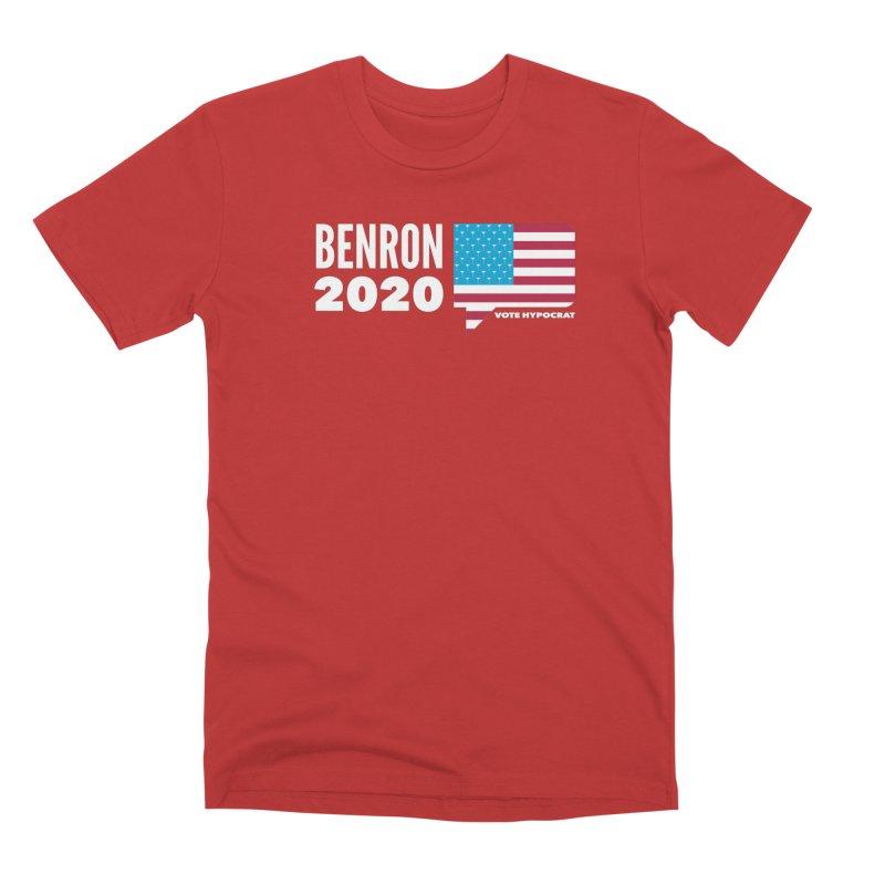 BenRon 2020 Vote Hypocrat Limited Men's Premium T-Shirt by Watch What Crappens