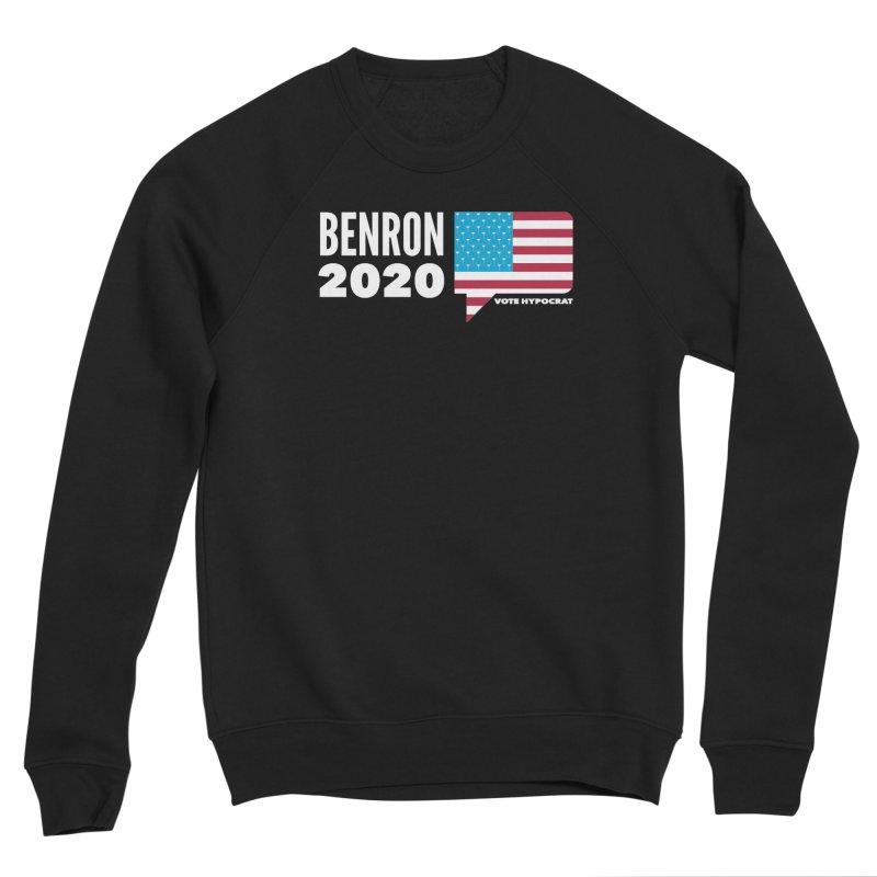 BenRon 2020 Vote Hypocrat Limited Men's Sponge Fleece Sweatshirt by Watch What Crappens