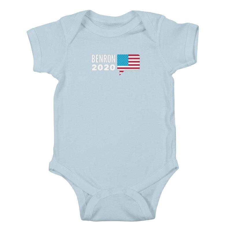 BenRon 2020 Vote Hypocrat Limited Kids Baby Bodysuit by Watch What Crappens