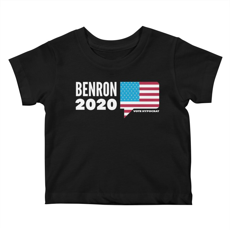 BenRon 2020 Vote Hypocrat Limited Kids Baby T-Shirt by Watch What Crappens