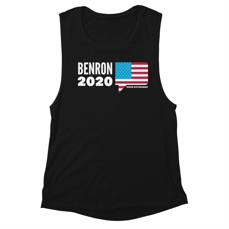 BenRon 2020 Vote Hypocrat Limited Women's Tank by Watch What Crappens
