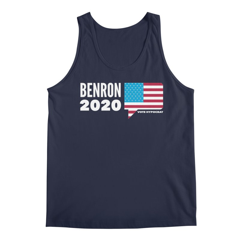 BenRon 2020 Vote Hypocrat Limited Men's Regular Tank by Watch What Crappens