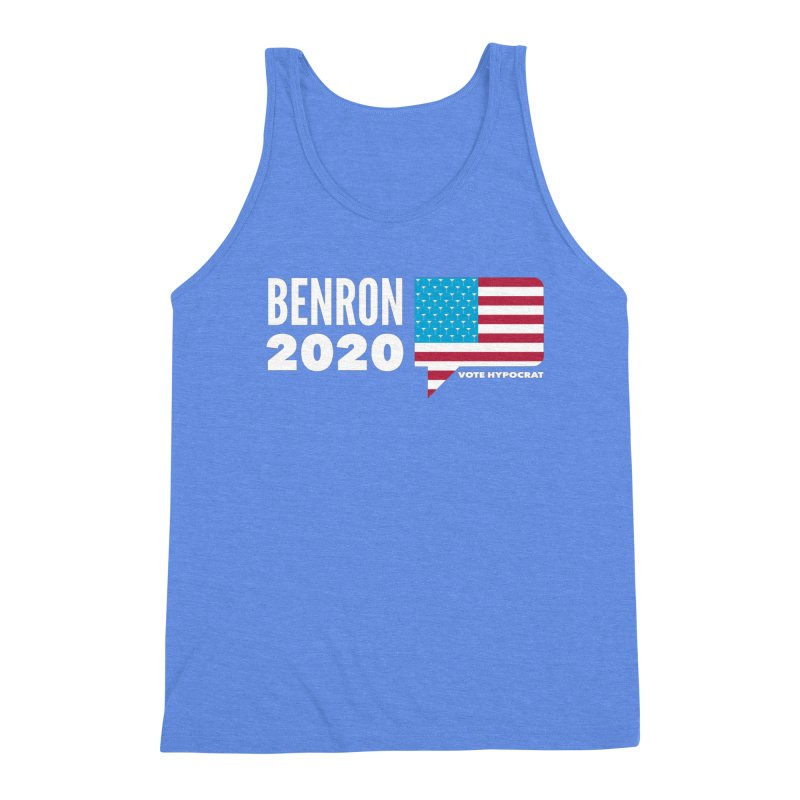 BenRon 2020 Vote Hypocrat Limited Men's Triblend Tank by Watch What Crappens
