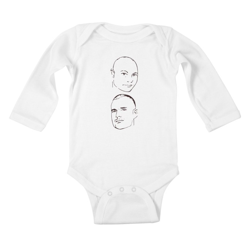 Give Them BenRon Limited Kids Baby Longsleeve Bodysuit by Watch What Crappens