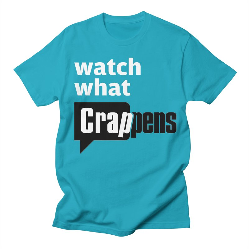 Crappens Shirts and Clothes Men's Regular T-Shirt by Watch What Crappens
