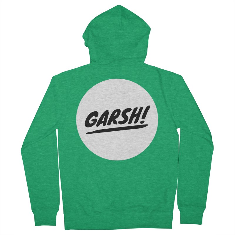 Garsh! Limited Men's French Terry Zip-Up Hoody by Watch What Crappens