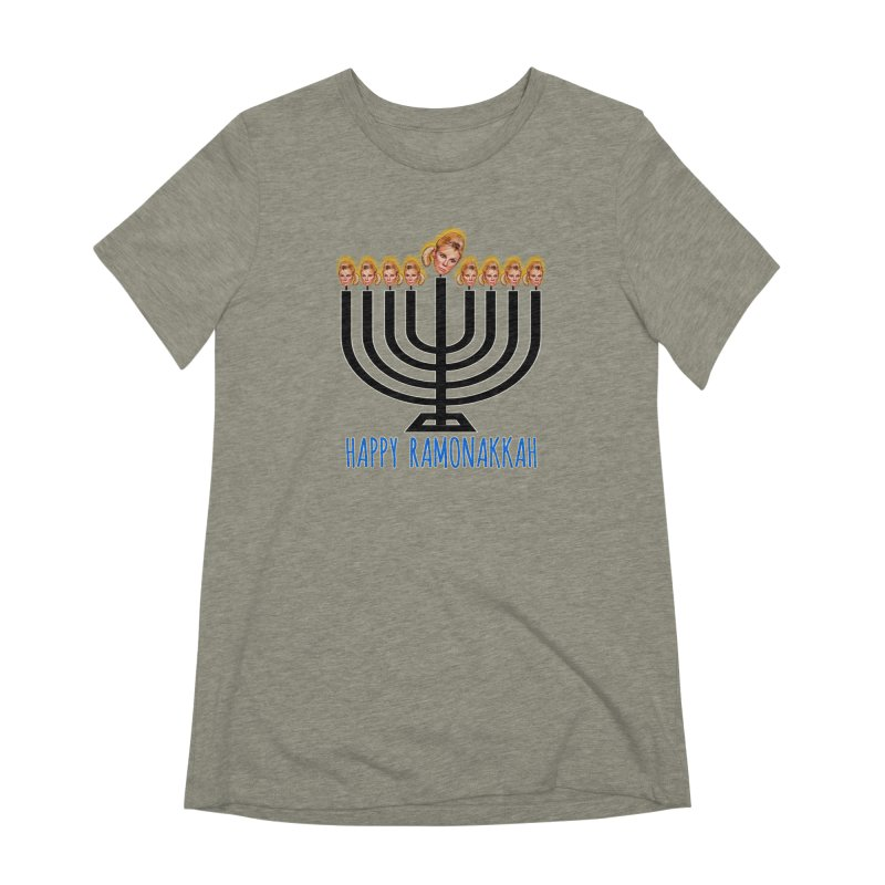 Happy Ramonakkah Limited Women's Extra Soft T-Shirt by Watch What Crappens