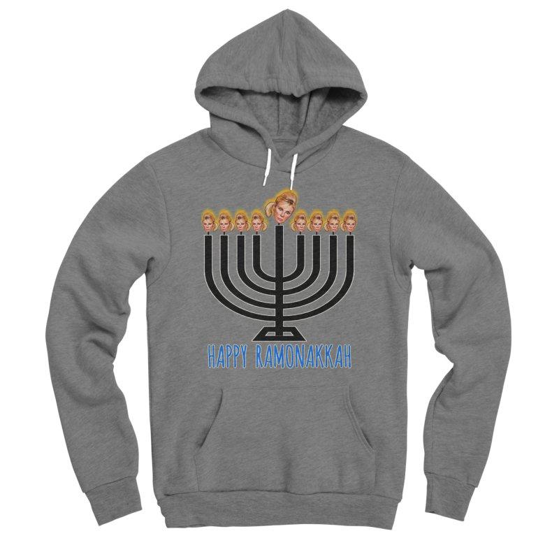 Happy Ramonakkah Limited Men's Sponge Fleece Pullover Hoody by Watch What Crappens