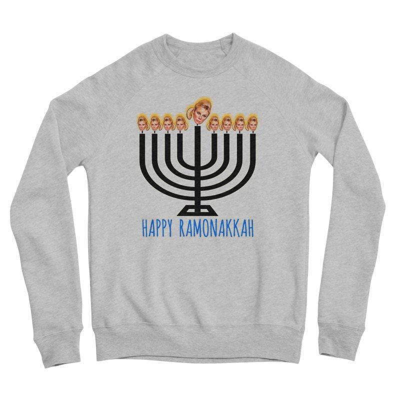 Happy Ramonakkah Limited Men's Sponge Fleece Sweatshirt by Watch What Crappens