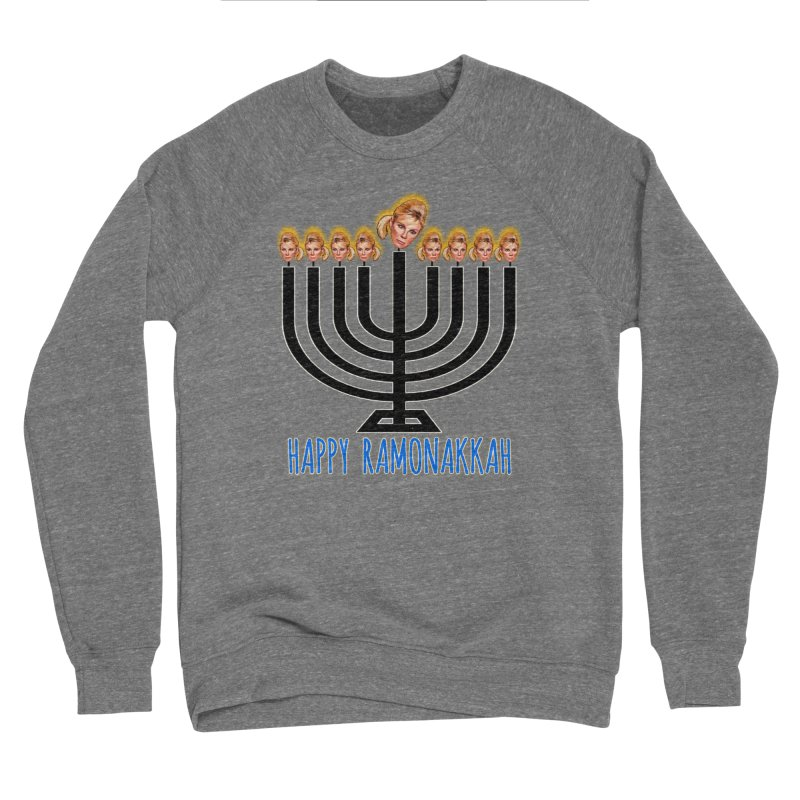 Happy Ramonakkah Limited Men's Sponge Fleece Sweatshirt by Watch What Crappens