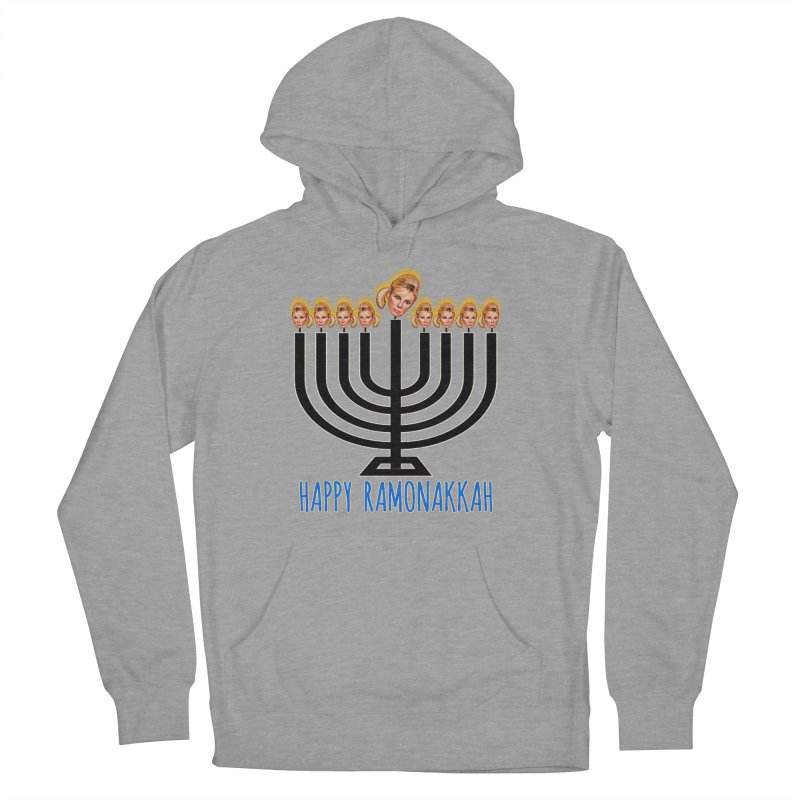 Happy Ramonakkah Limited Women's French Terry Pullover Hoody by Watch What Crappens