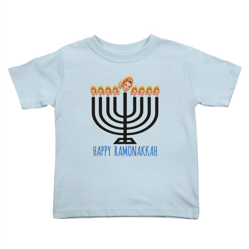 Happy Ramonakkah Limited Kids Toddler T-Shirt by Watch What Crappens