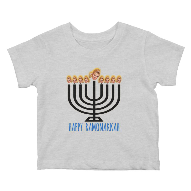 Happy Ramonakkah Limited Kids Baby T-Shirt by Watch What Crappens
