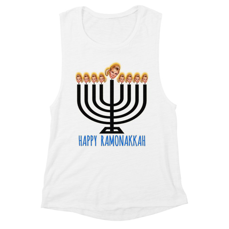 Happy Ramonakkah Limited Women's Muscle Tank by Watch What Crappens