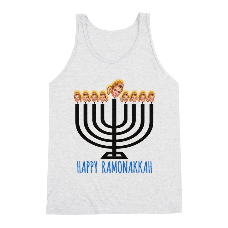 Happy Ramonakkah Limited Men's Triblend Tank by Watch What Crappens