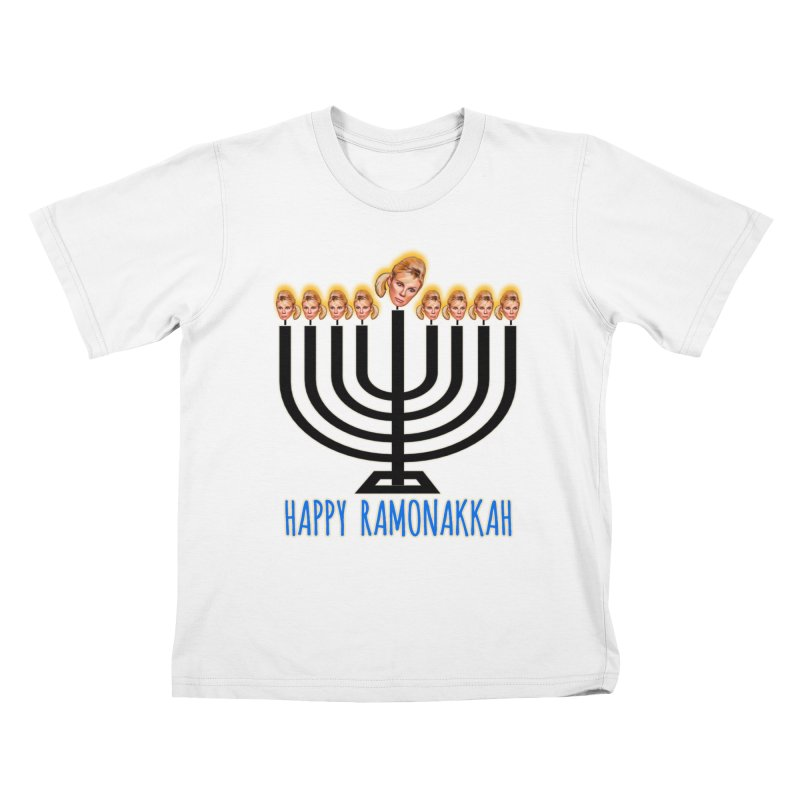 Happy Ramonakkah Limited Kids T-Shirt by Watch What Crappens