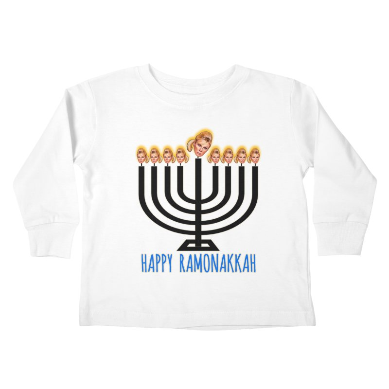 Happy Ramonakkah Limited Kids Toddler Longsleeve T-Shirt by Watch What Crappens