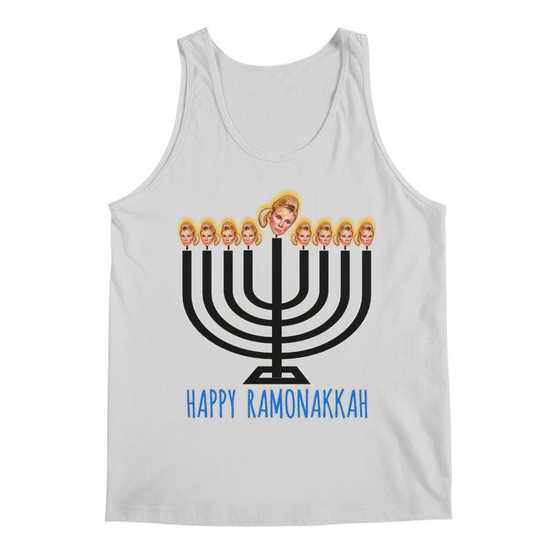 Happy Ramonakkah Limited Men's Regular Tank by Watch What Crappens