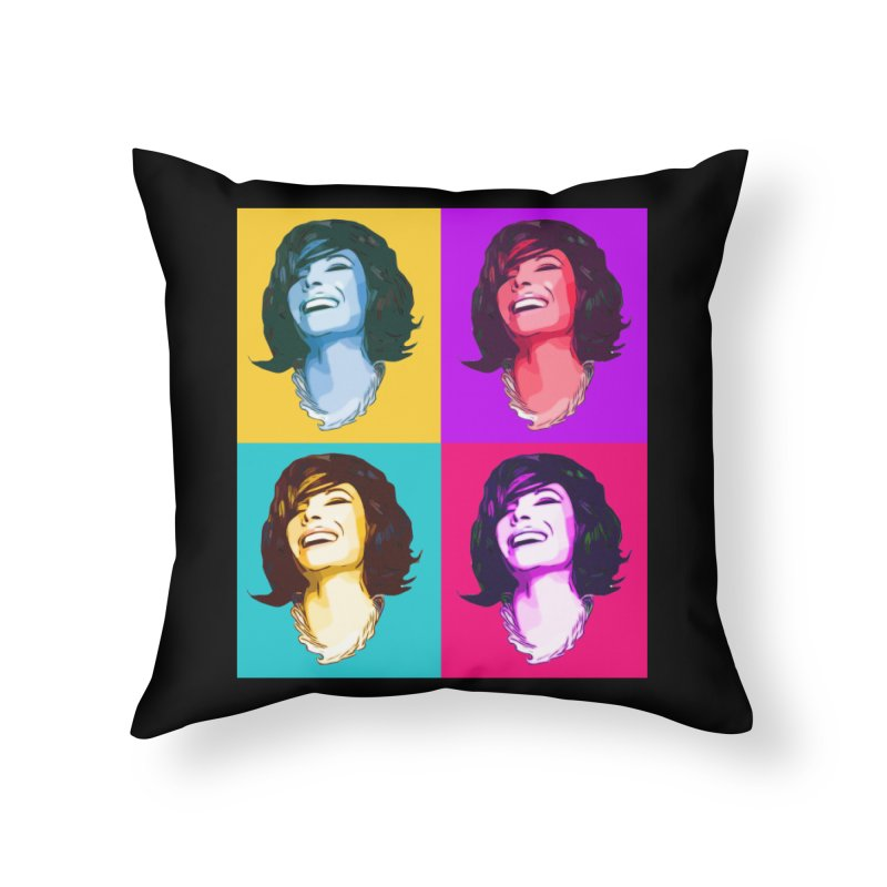 Luann Pop Art Home Throw Pillow by Watch What Crappens