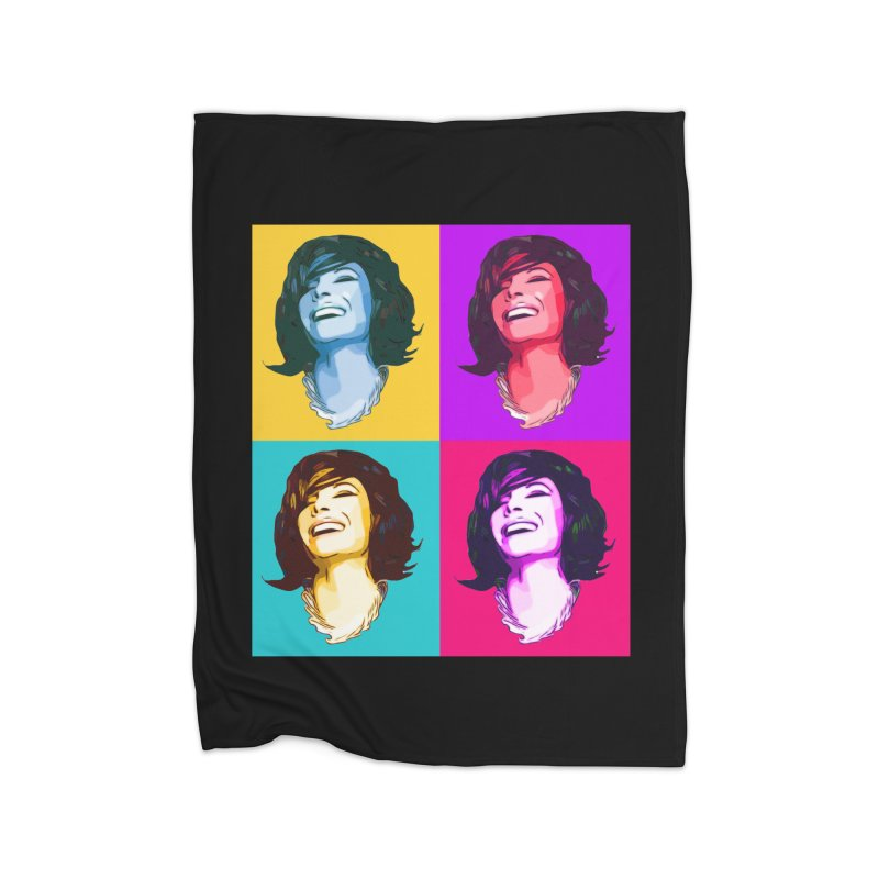 Luann Pop Art Home Blanket by Watch What Crappens