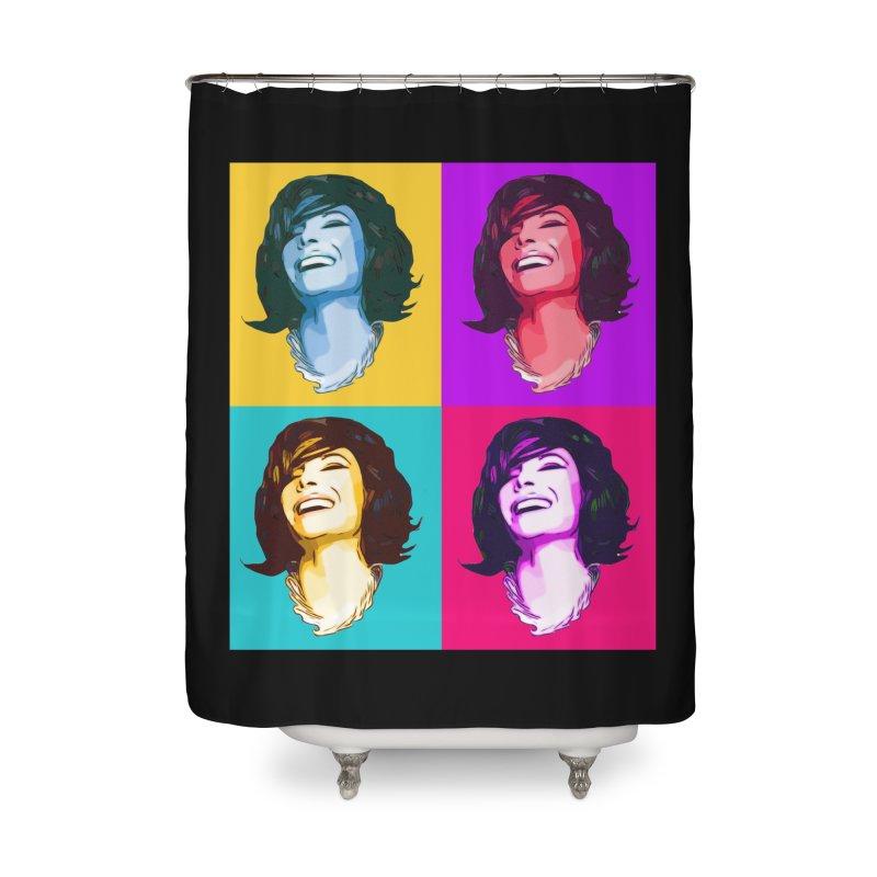 Luann Pop Art Home Shower Curtain by Watch What Crappens
