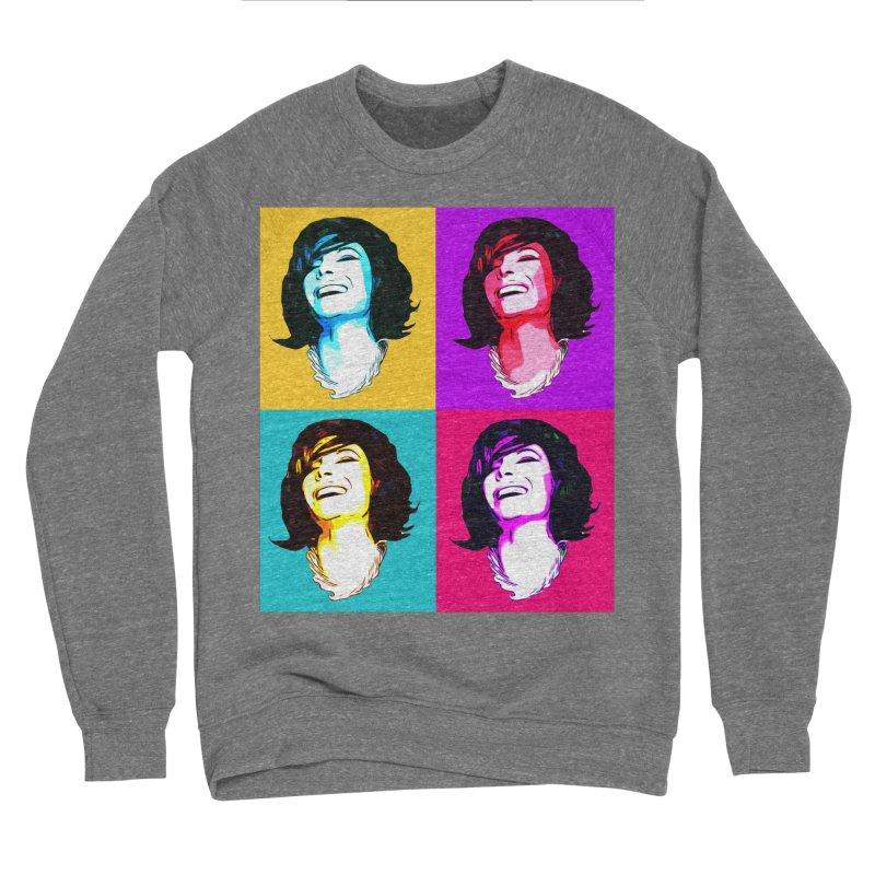 Luann Pop Art Women's Sponge Fleece Sweatshirt by Watch What Crappens