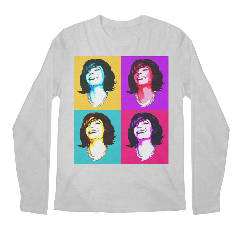 Luann Pop Art Men's Regular Longsleeve T-Shirt by Watch What Crappens