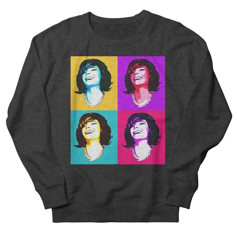 Luann Pop Art Women's French Terry Sweatshirt by Watch What Crappens