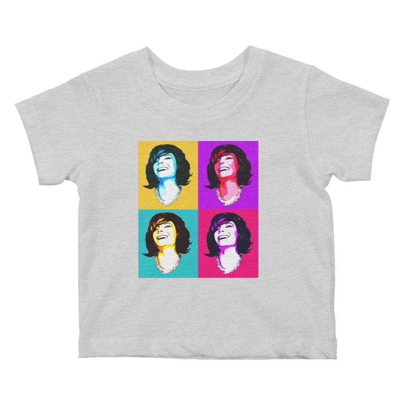 Luann Pop Art Kids Baby T-Shirt by Watch What Crappens