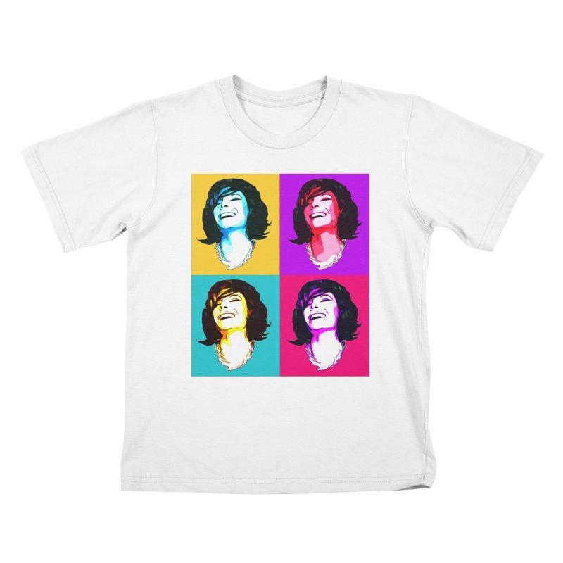 Luann Pop Art Kids T-Shirt by Watch What Crappens