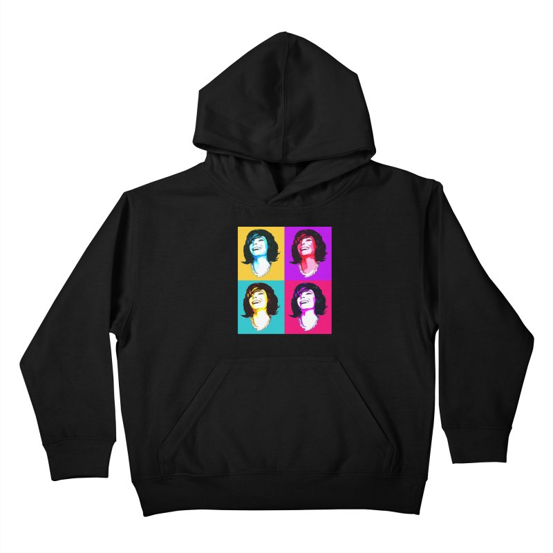 Luann Pop Art Kids Pullover Hoody by Watch What Crappens