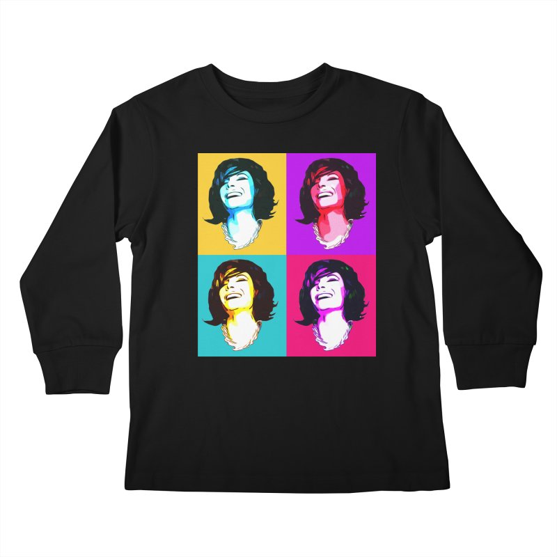 Luann Pop Art Kids Longsleeve T-Shirt by Watch What Crappens