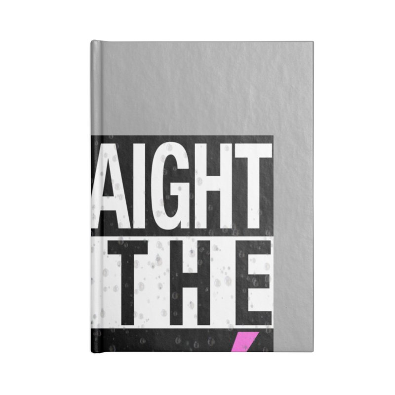 Straight to the Rosé Limited Edition Accessories Lined Journal Notebook by Watch What Crappens
