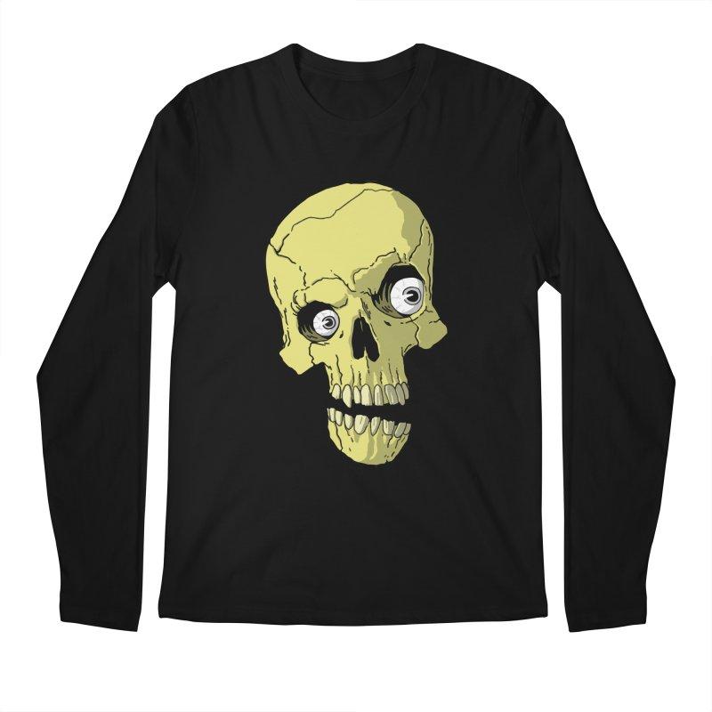 crazyskull No.1 Men's Longsleeve T-Shirt by crazy3dman's Artist Shop