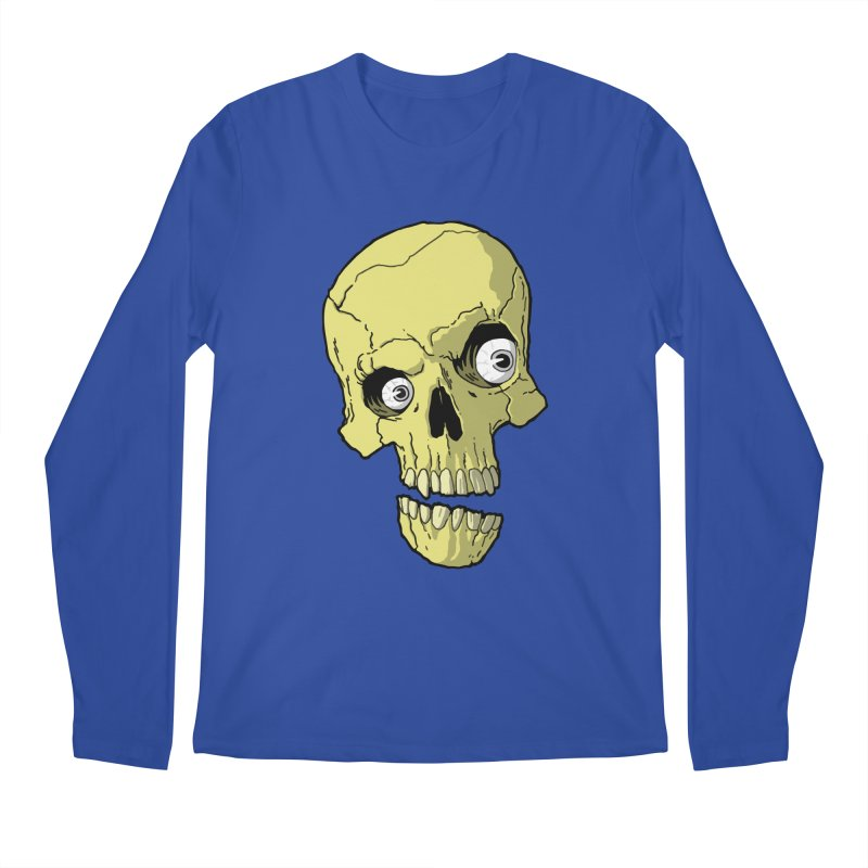 crazyskull No.1 Men's Longsleeve T-Shirt by crazy3dman's Artist Shop