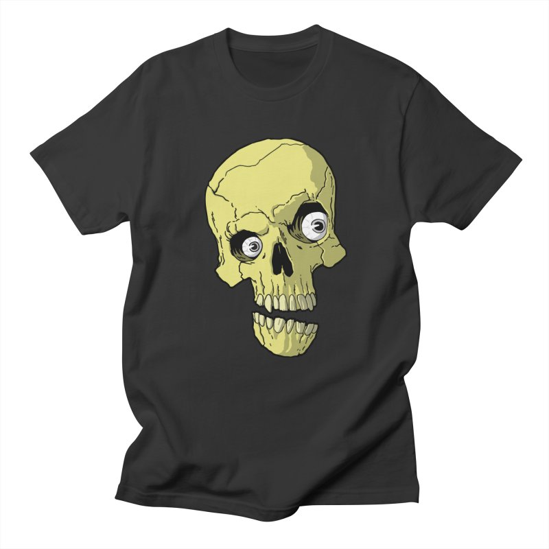 crazyskull No.1 Men's T-shirt by crazy3dman's Artist Shop