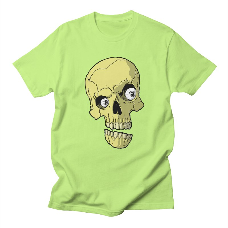 crazyskull No.1 Men's T-shirt by crazy3dman's Artist Shop