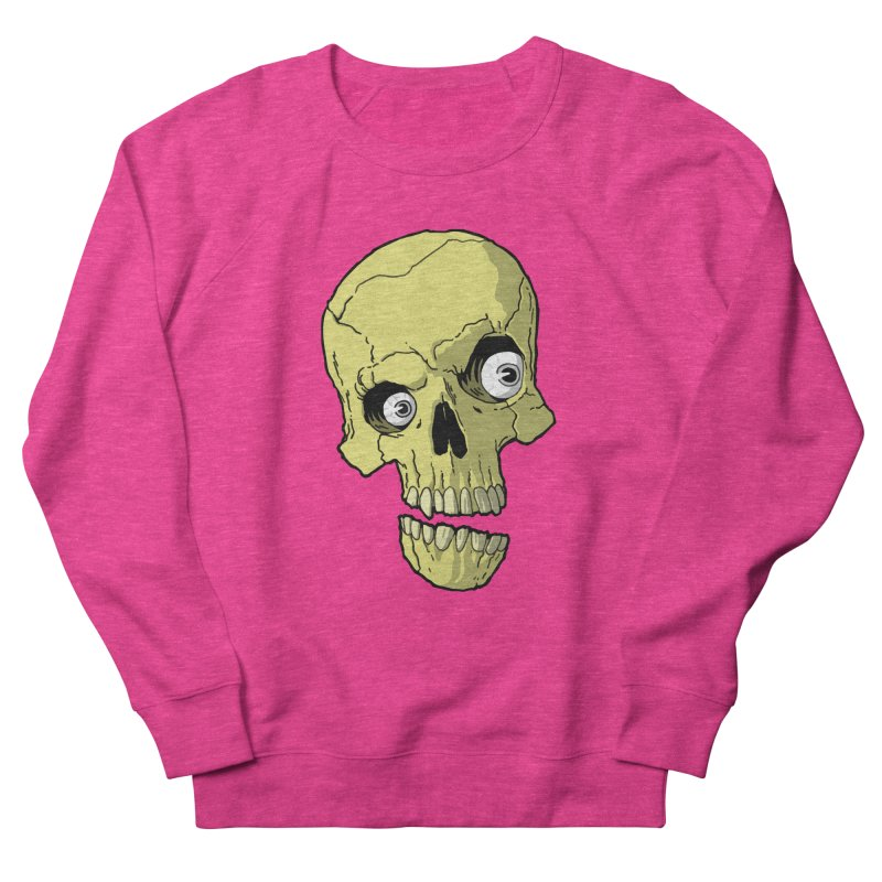 crazyskull No.1 Men's Sweatshirt by crazy3dman's Artist Shop