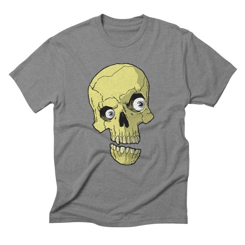 crazyskull No.1 Men's Triblend T-Shirt by crazy3dman's Artist Shop