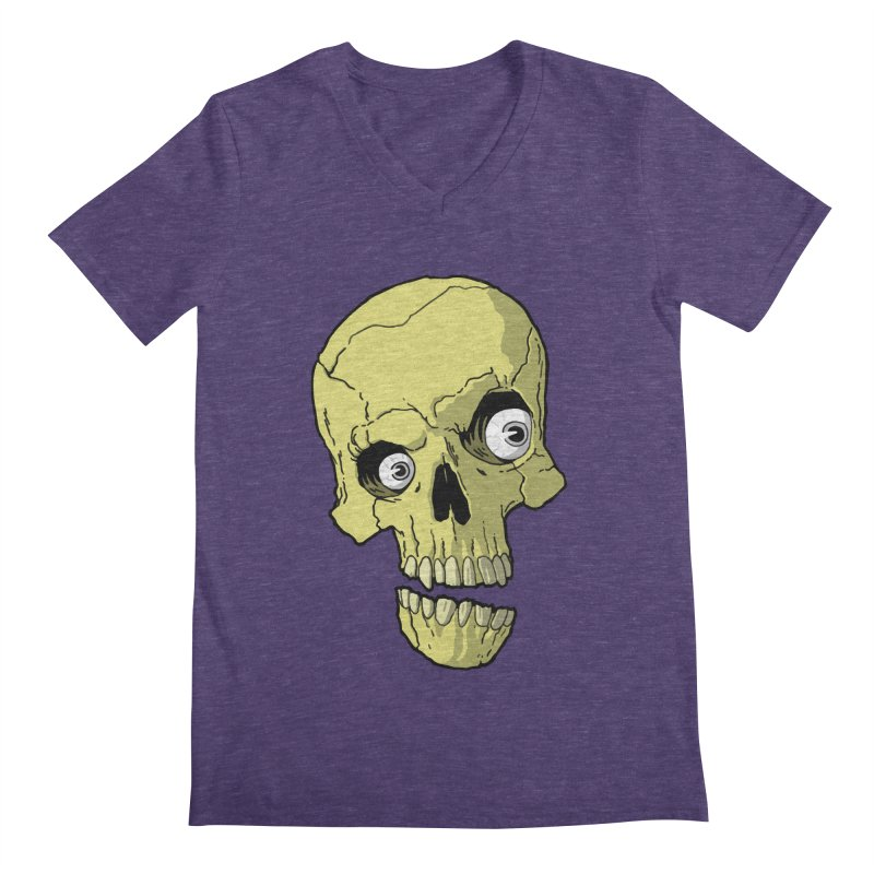 crazyskull No.1 Men's V-Neck by crazy3dman's Artist Shop