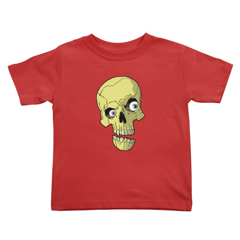 crazyskull No.1 Kids Toddler T-Shirt by crazy3dman's Artist Shop