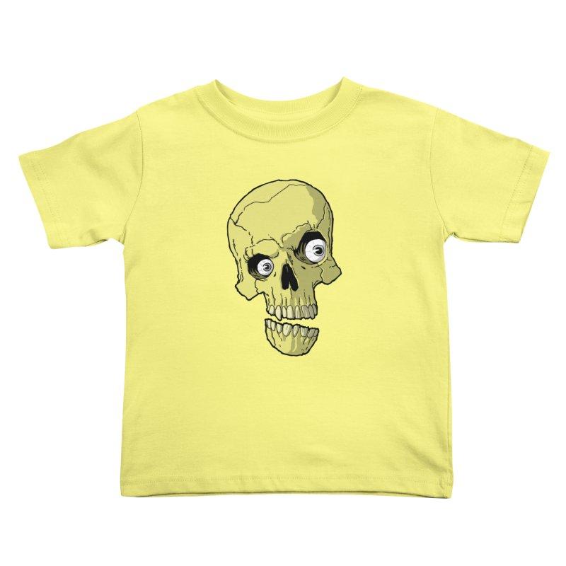 crazyskull No.1 Kids Toddler T-Shirt by crazy3dman's Artist Shop