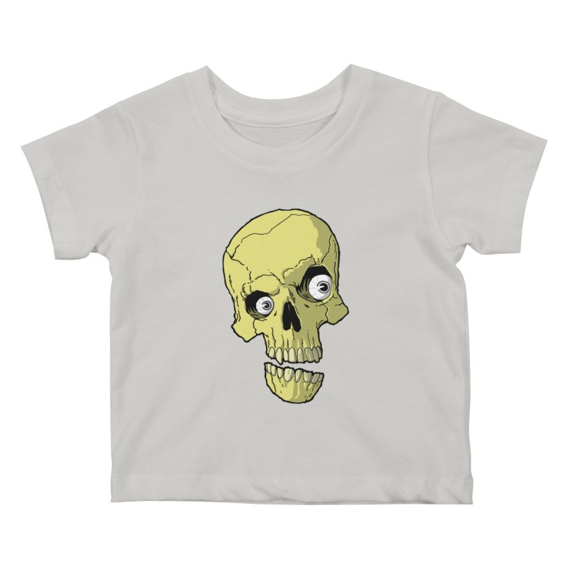 crazyskull No.1 Kids Baby T-Shirt by crazy3dman's Artist Shop