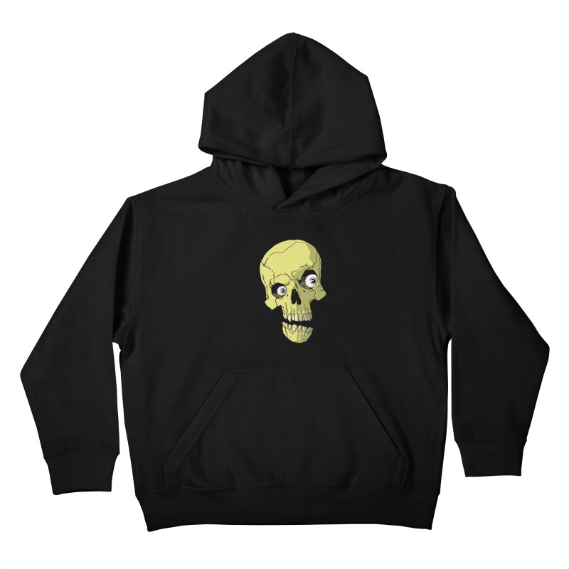 crazyskull No.1 Kids Pullover Hoody by crazy3dman's Artist Shop