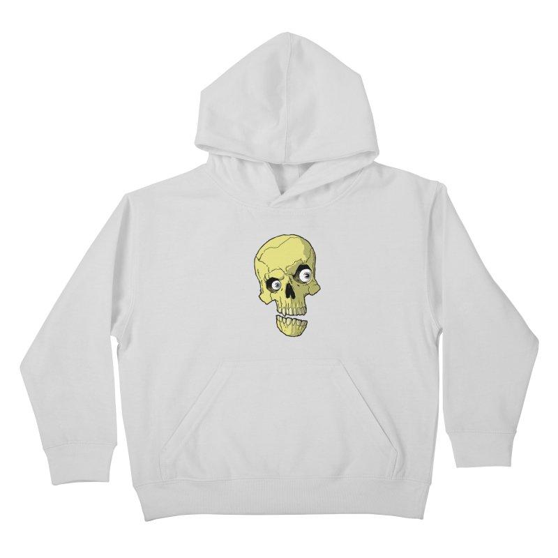 crazyskull No.1 Kids Pullover Hoody by crazy3dman's Artist Shop