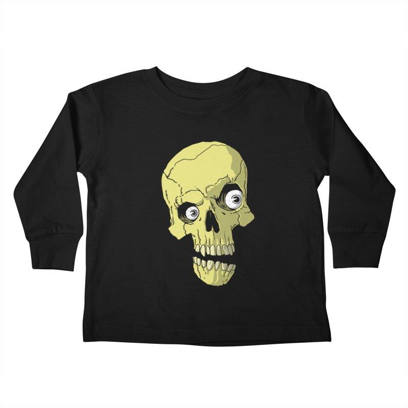 crazyskull No.1 Kids Toddler Longsleeve T-Shirt by crazy3dman's Artist Shop