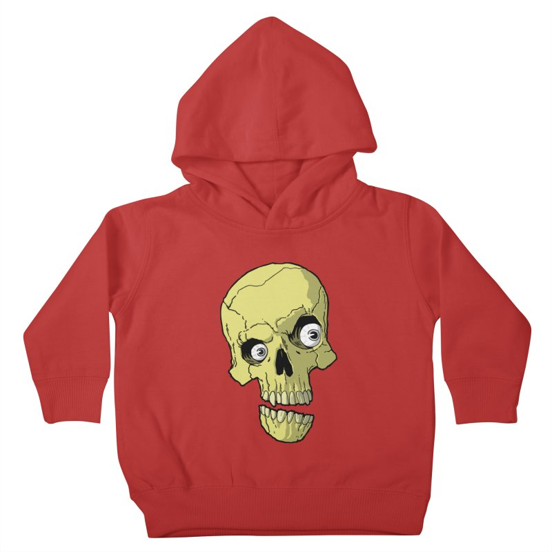 crazyskull No.1 Kids Toddler Pullover Hoody by crazy3dman's Artist Shop