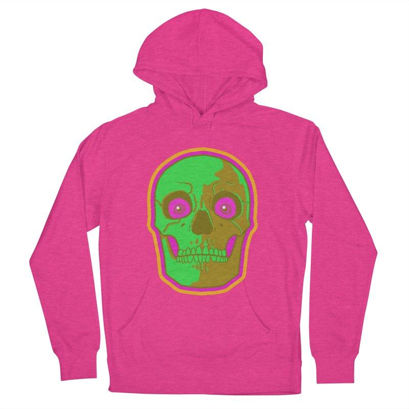 crazyskull No.2 Women's Pullover Hoody by crazy3dman's Artist Shop