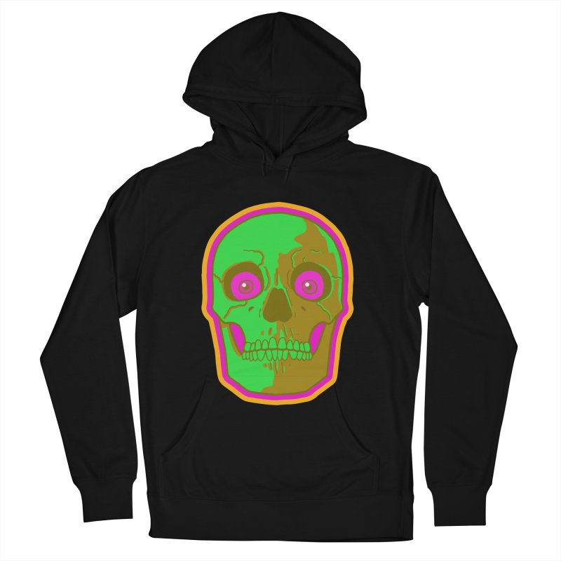 crazyskull No.2 Men's Pullover Hoody by crazy3dman's Artist Shop