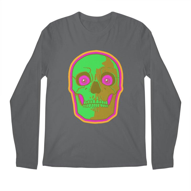 crazyskull No.2 Men's Longsleeve T-Shirt by crazy3dman's Artist Shop